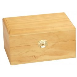Wood Essential Oil Storage Box (Small)