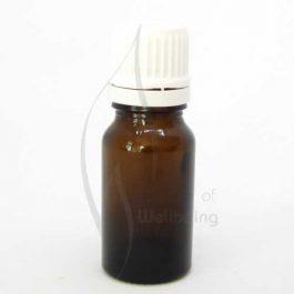 10ml Amber glass bottle with cap & dripolator
