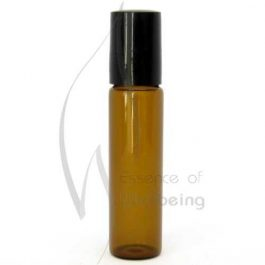 15ml Amber glass bottle with Roller Ball Top