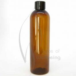 250ml Amber Pet Bottle with cap